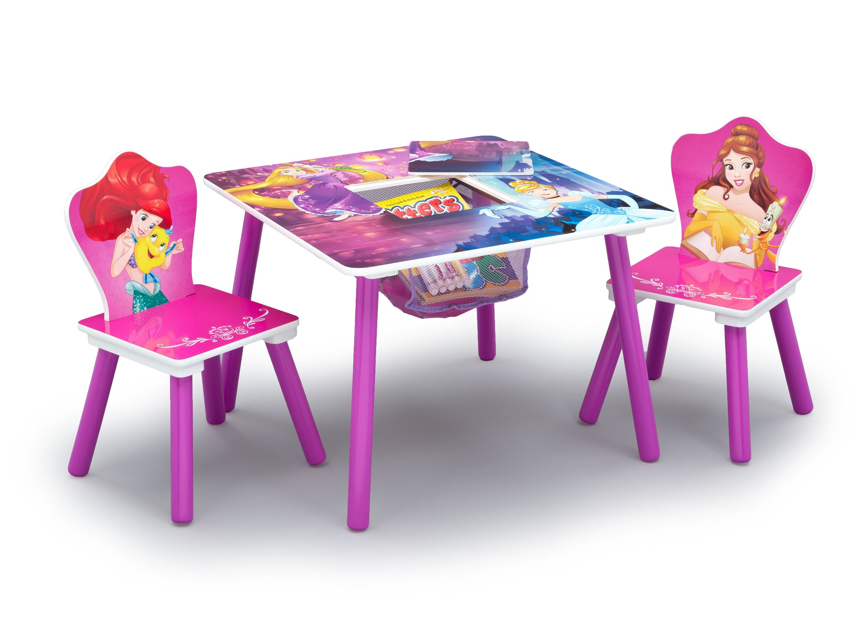 ... Disney Princess (1034) Table and Chair Set with Storage (TT89562PS) Table ...  sc 1 st  Delta Children & Princess Table and Chair Set With Storage | Delta Children