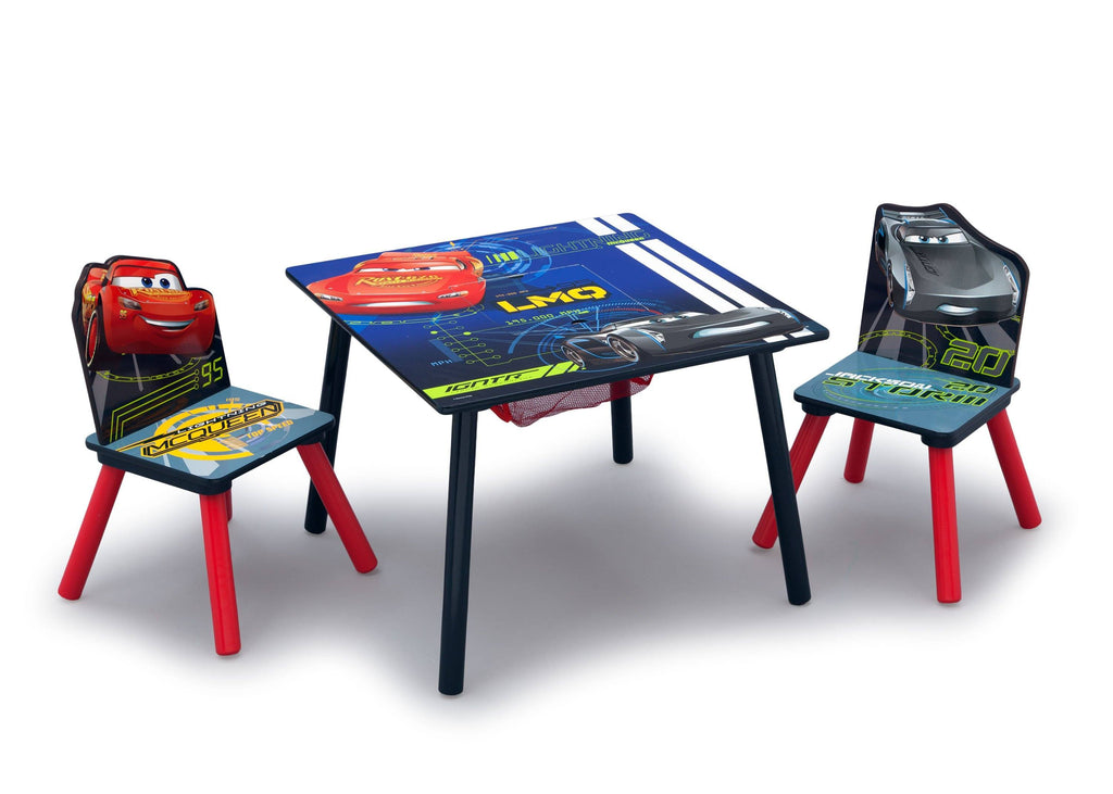 Delta Children Cars (1014) Table \u0026 Chair Set with Storage Right Angle  sc 1 st  Delta Children & Cars Table \u0026 Chair Set with Storage | Delta Children