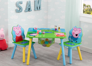 Delta Children Peppa Pig Table & Chair Set with Storage (TT89600PG-1171), a0a