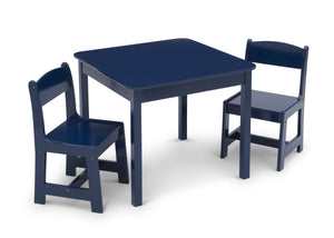 Delta Children Deep Blue (295C) MySize Table & Chairs Set, Right Silo View