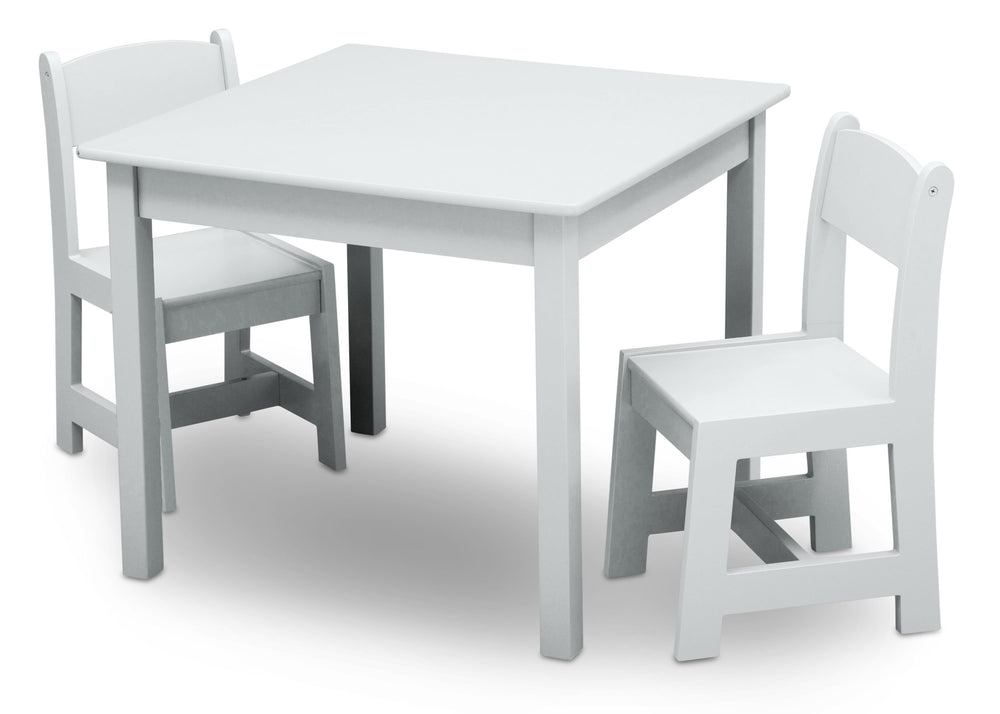 Delta Children Bianca (130) MySize Table & Chairs Set, Left Angle, b3b