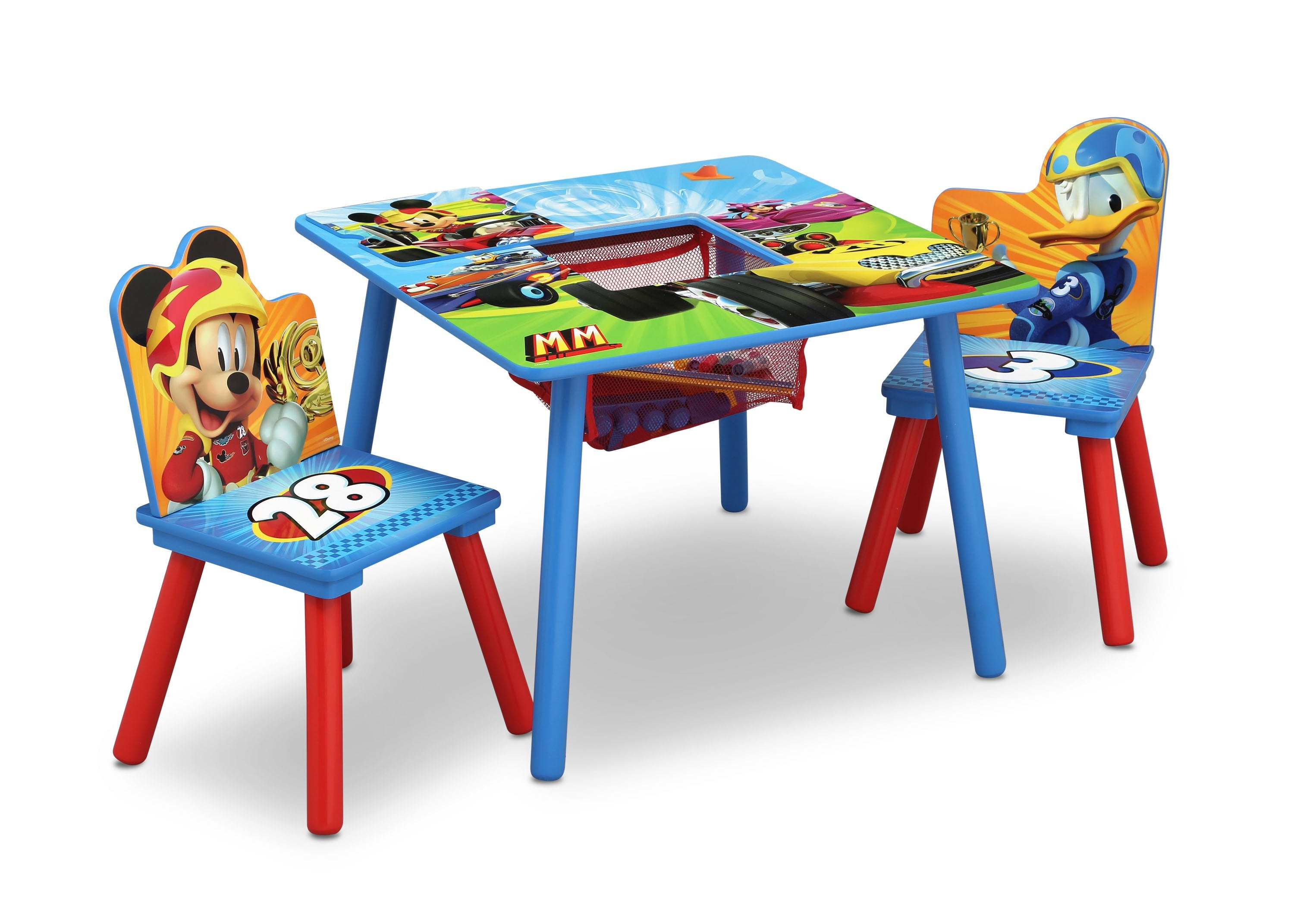 Mickey Mouse Table & Chair Set with Storage | Delta Children