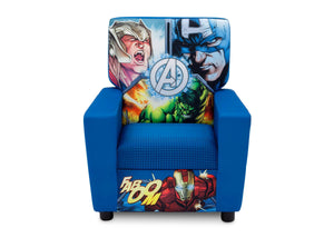 Delta Children Avengers (1160) High Back Upholstered Chair, Front, a3a