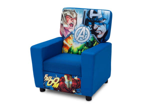 Delta Children Avengers (1160) High Back Upholstered Chair, Left Angle, a2a