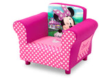 Delta Children Minnie Mouse Upholstered Chair, Left View, a2a