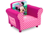 Delta Children Minnie Mouse Upholstered Chair, Right View, a1a