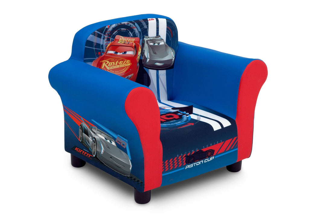 Delta Children Cars (1014) Upholstered Chair, Right Angle, a1a