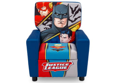 Delta Children Justice League (1215) High Back Upholstered Chair, Front, a3a