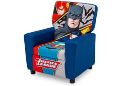 Delta Children Justice League (1215) High Back Upholstered Chair, Left Angle, a3a