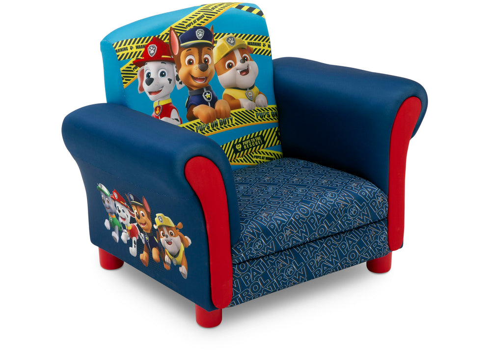 Delta Children PAW Patrol Kids Upholstered Chair Right Silo View a3a