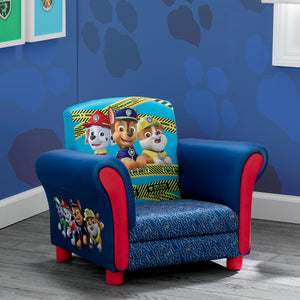 Delta Children PAW Patrol Kids Upholstered Chair Hangtag View a1a