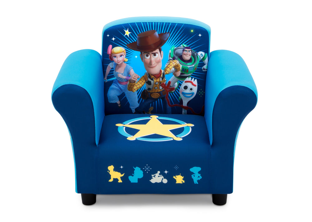 Disney/Pixar Toy Story 4 Kids Upholstered Chair, Front Silo View