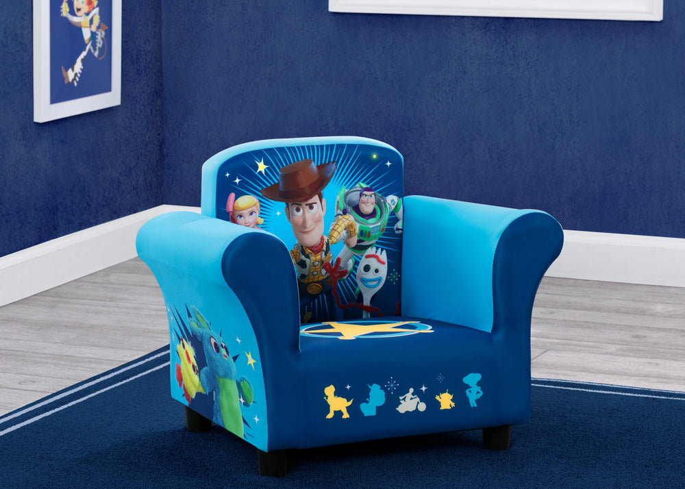 Disney/Pixar Toy Story 4 Kids Upholstered Chair, Hangtag View