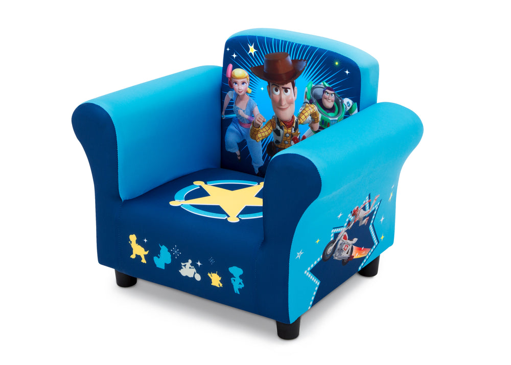 Disney/Pixar Toy Story 4 Kids Upholstered Chair, Left Silo View