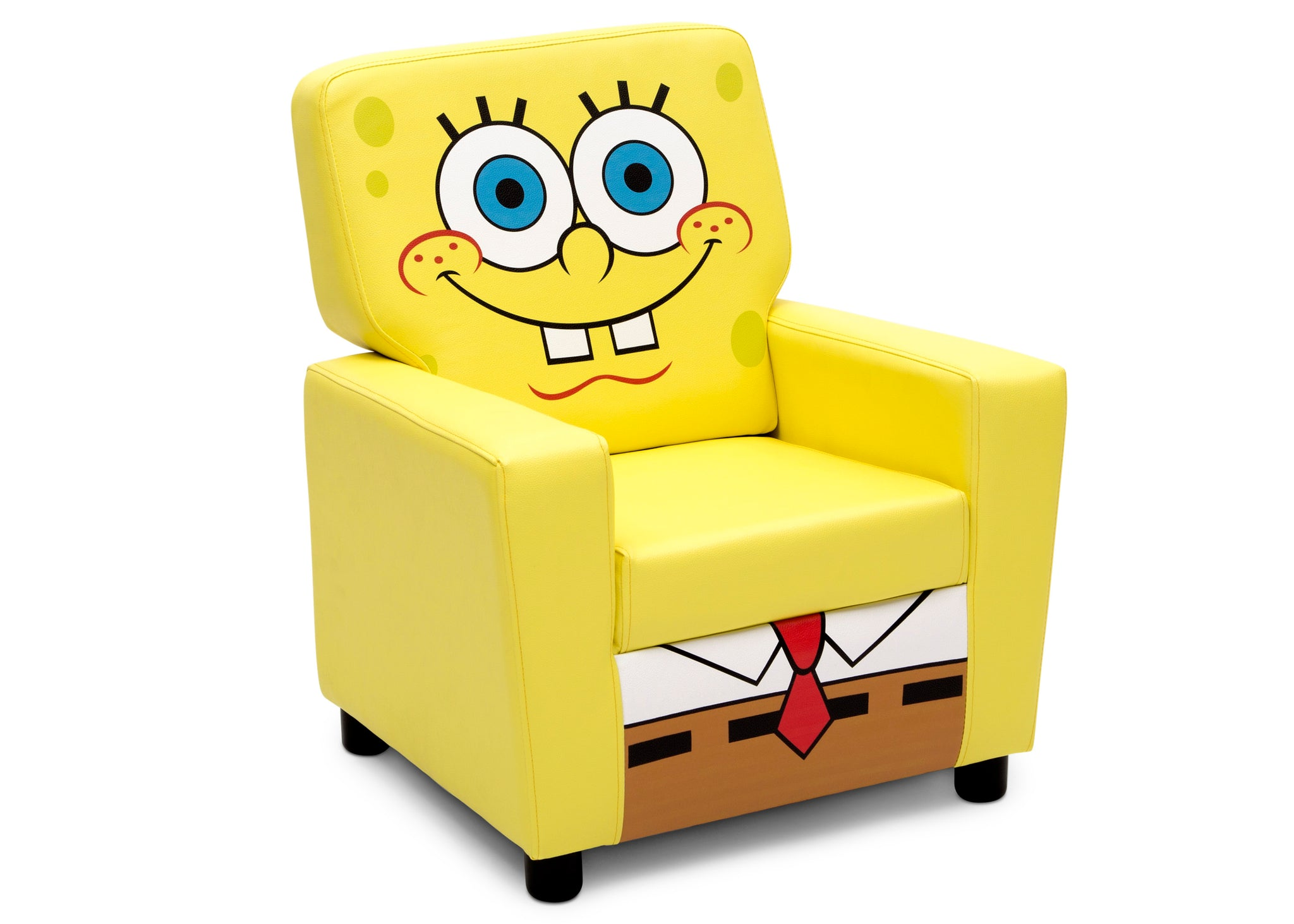 Delta Children SpongeBob (1112) SquarePants High Back Upholstered Chair, Right Silo View