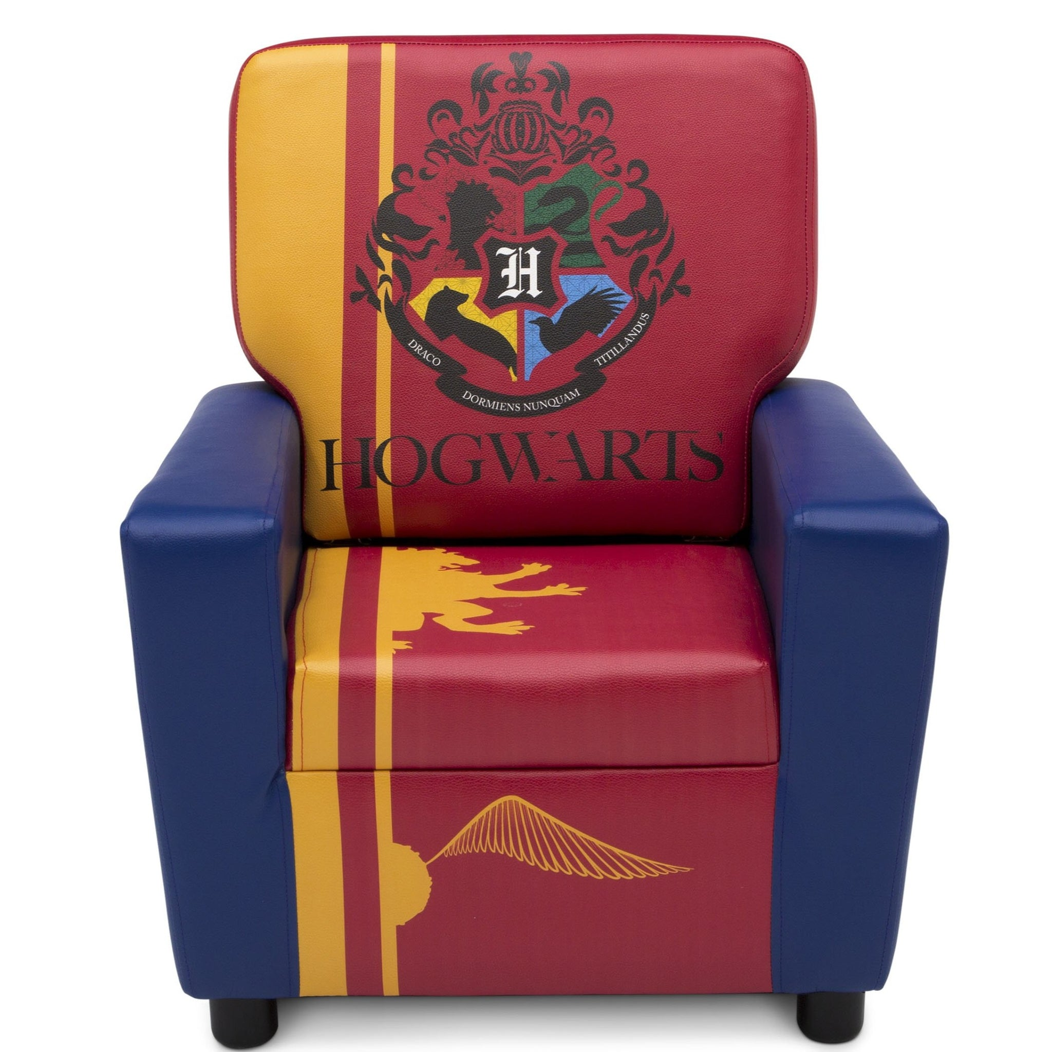 Delta Children Harry Potter (1206) High Back Upholstered Chair, Front Silo View