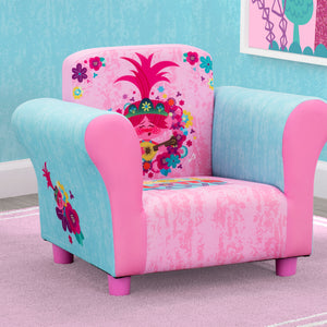 Delta Children Trolls World Tour (1177) Upholstered Chair, Hangtag View