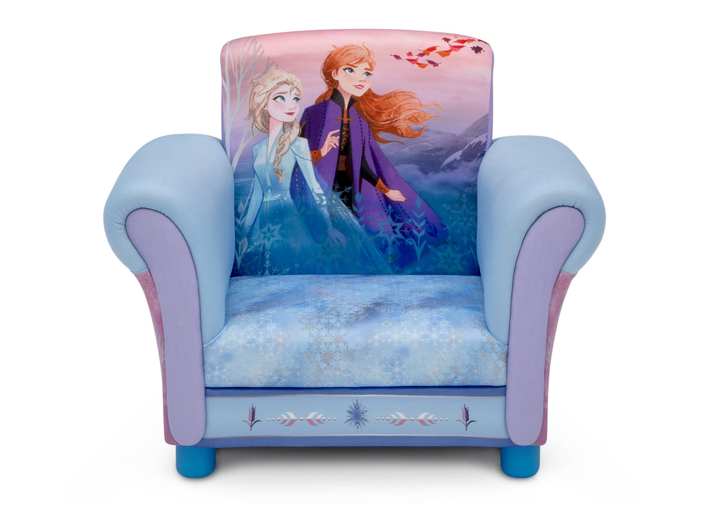 Delta Children Frozen II Upholstered Chair, Front Silo View