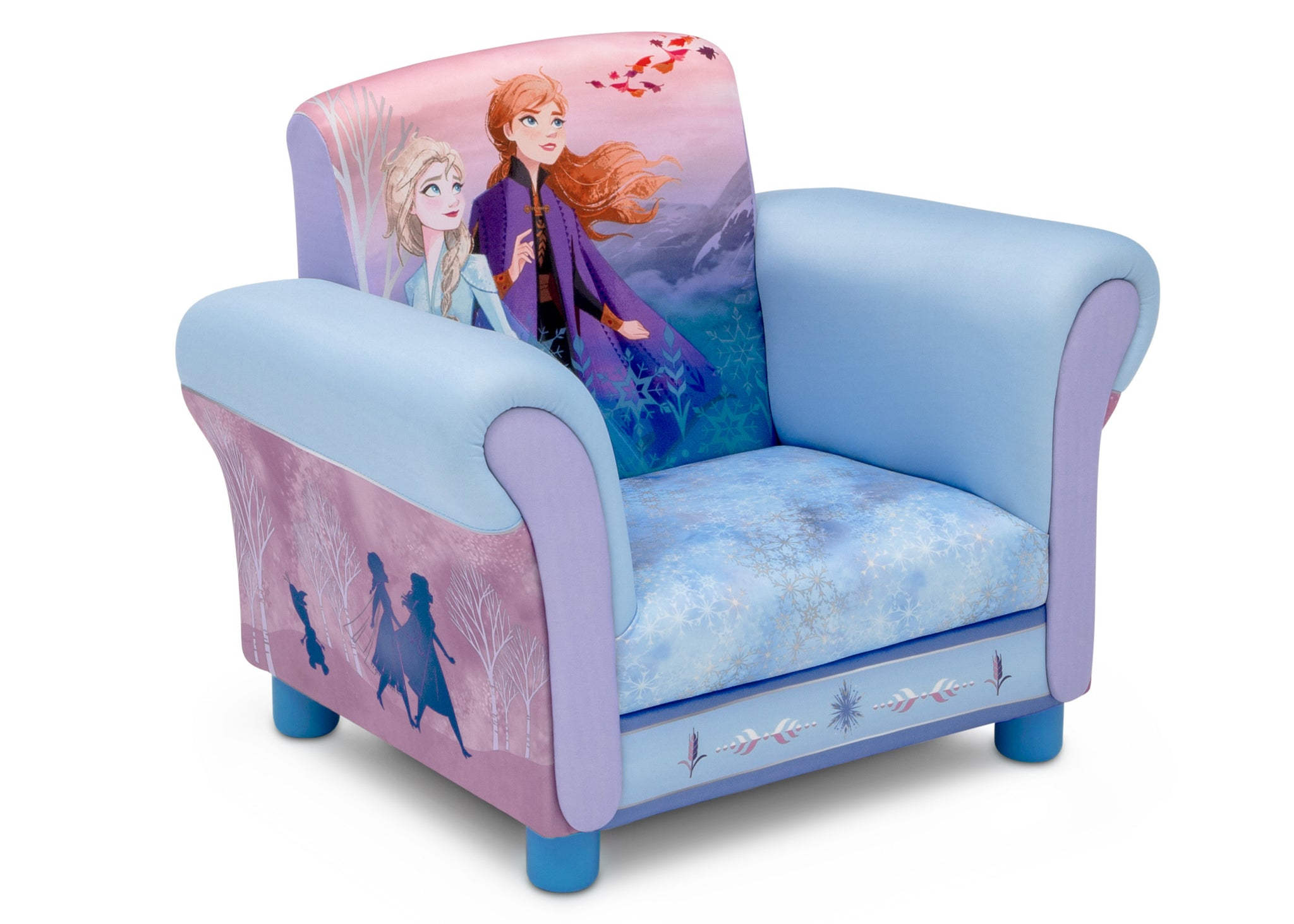 Delta Children Frozen II (1098) Upholstered Chair, Right Silo View Frozen(1098)