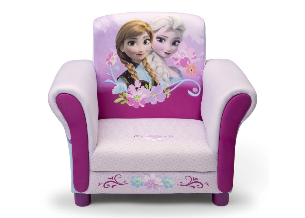 Delta Children Frozen Upholstered Chair Front View Style 1