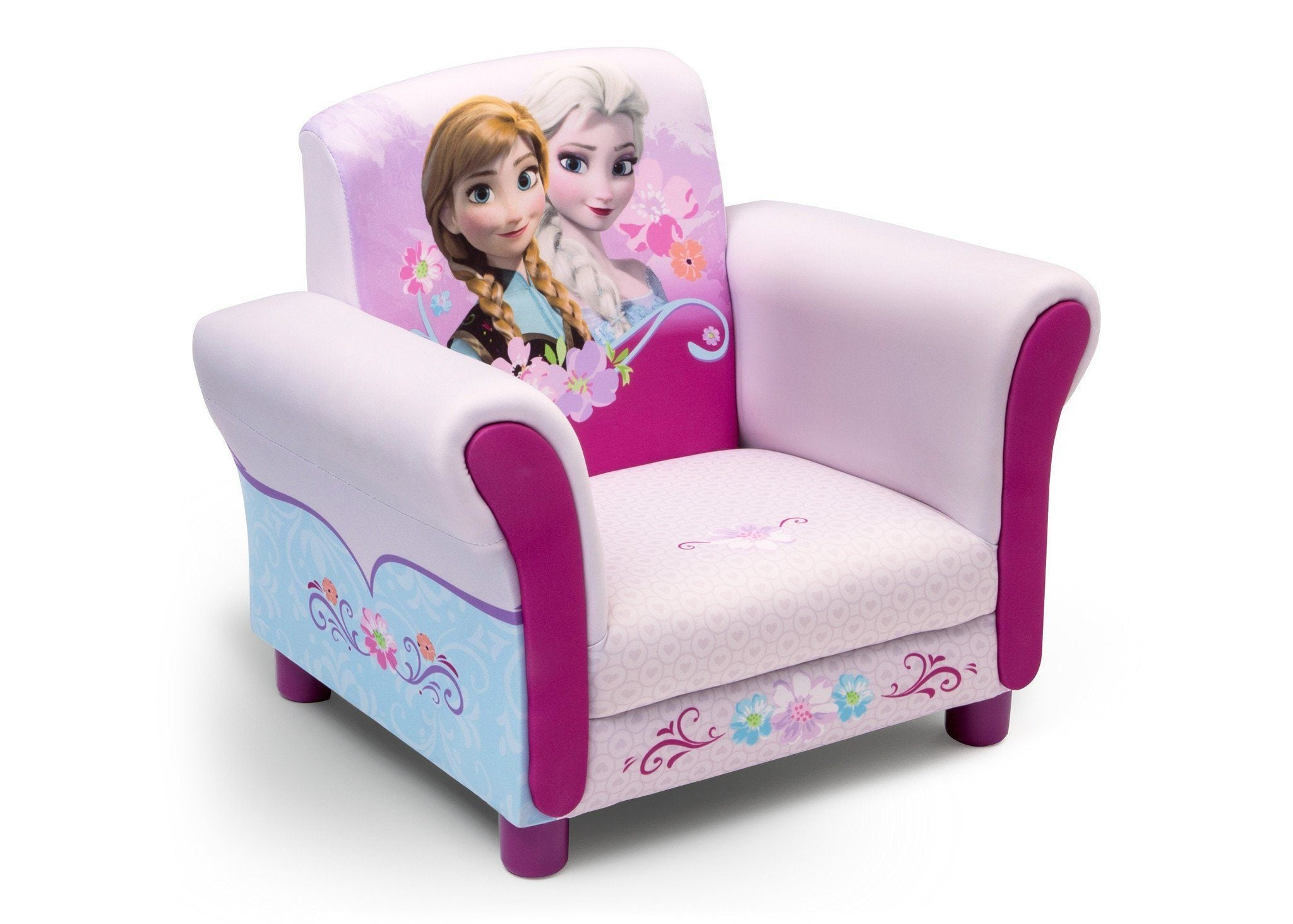 Delta Children Frozen Upholstered Chair Style-1 Right Side View Style 1 a1a
