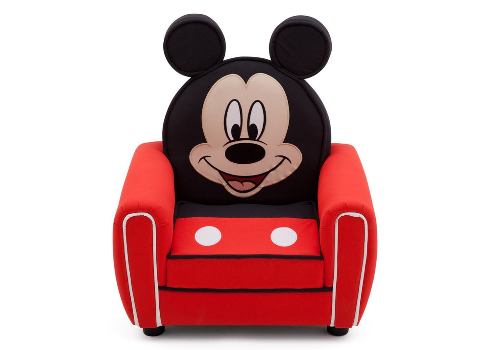 Delta Children Mickey Figural Upholstered Chair Front View