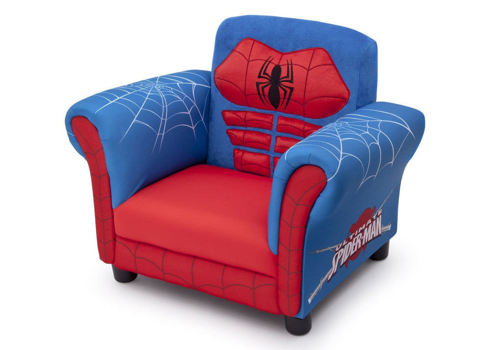 Delta Children Marvel Spider-Man Figural Chair Left Side View a2a