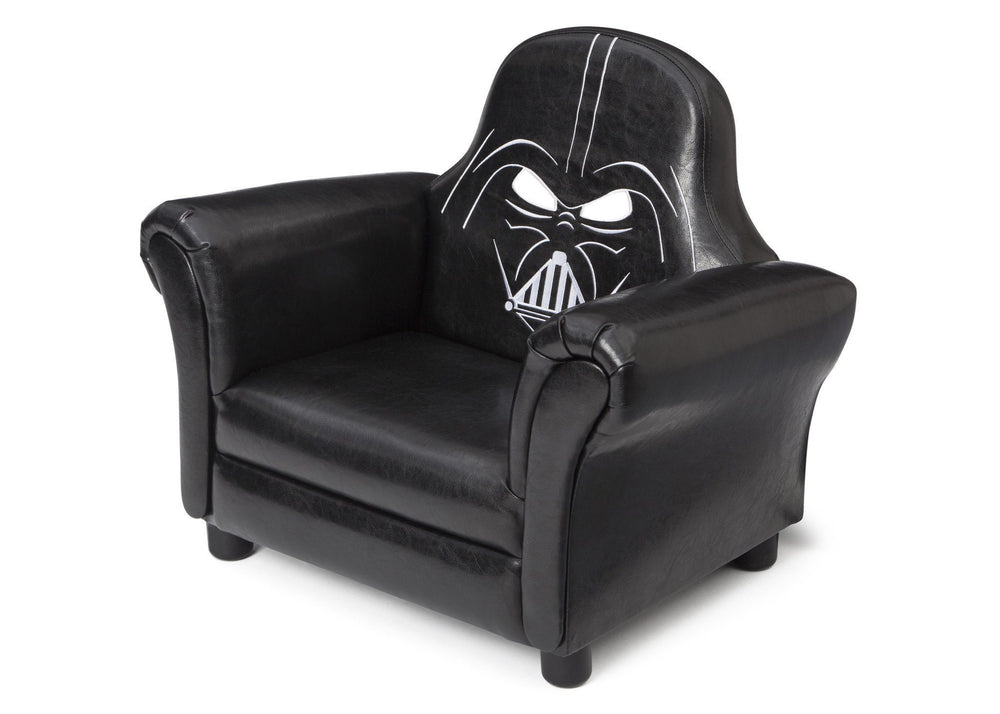 Sensational Star Wars Upholstered Chair Darth Vader Delta Children Creativecarmelina Interior Chair Design Creativecarmelinacom