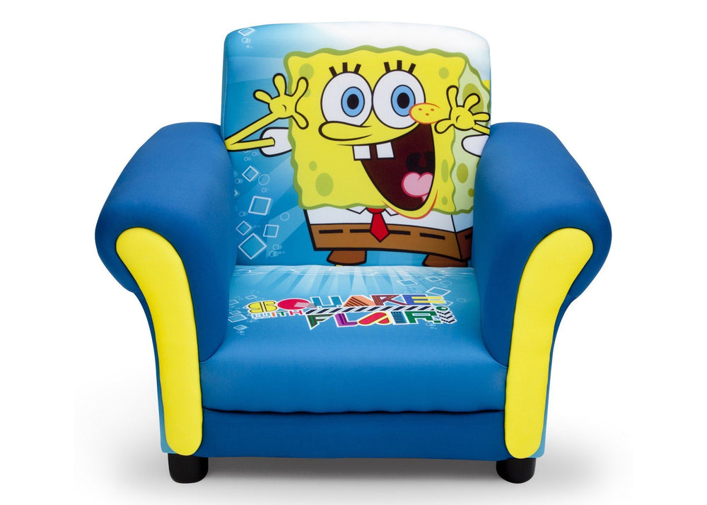 Delta Children SpongeBob Upholstered Chair Front View
