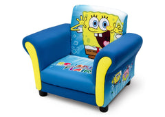 Delta Children SpongeBob Upholstered Chair Left Side View a2a