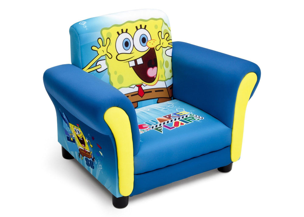 Delta Children SpongeBob Upholstered Chair Right Side View a1a