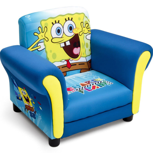 Peachy Spongebob Upholstered Chair Delta Children Gmtry Best Dining Table And Chair Ideas Images Gmtryco