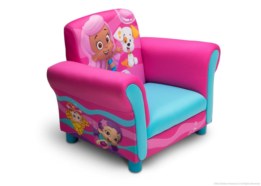 Delta Children Style 1 Bubble Guppies Upholstered Chair a1a
