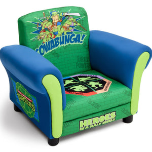 Delta Children Ninja Turtles Upholstered Chair Right Side View a1a