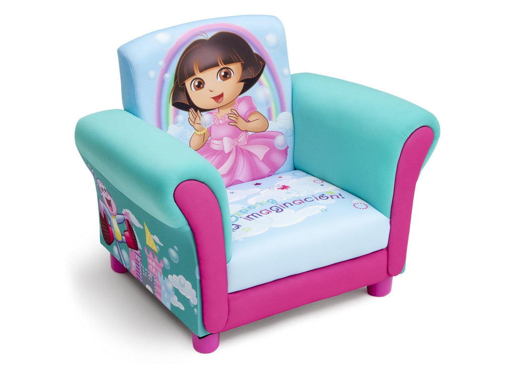 Delta Children Dora Upholstered Chair Right Side View a1a