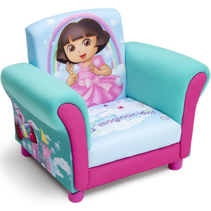 Delta Children Dora Upholstered Chair Right Side View a1a Dora The Explorer (1102)