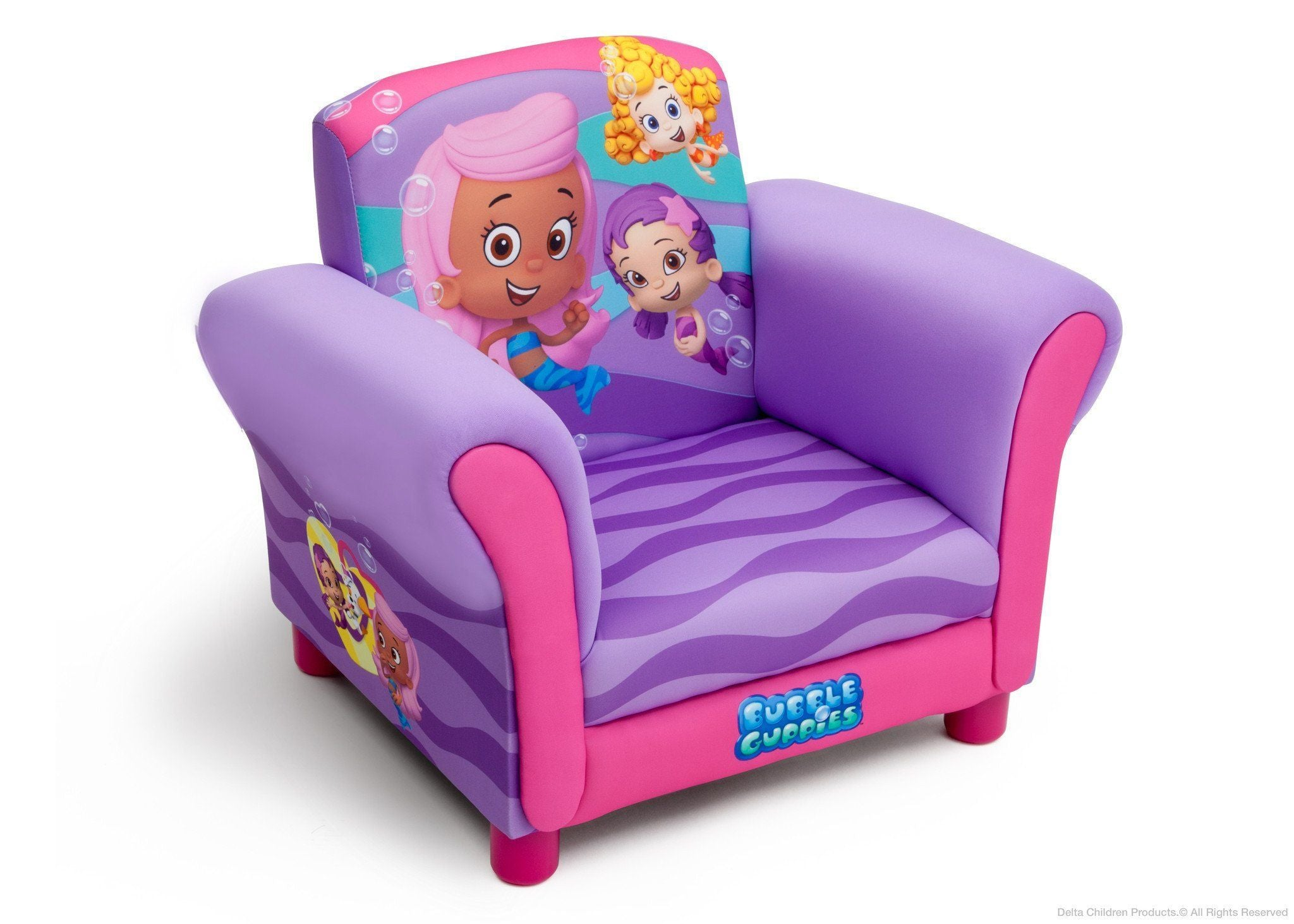 Delta Children Style 2 Bubble Guppies Upholstered Chair b2b