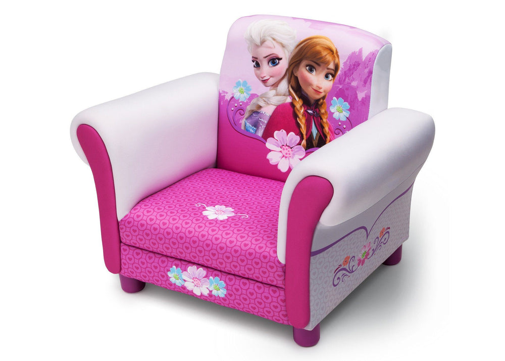 Delta Children Frozen Upholstered Chair Style-1 Left Side View Style 2 b2b