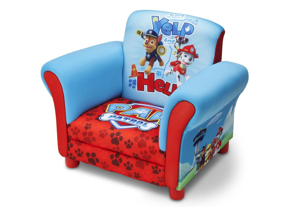 Delta Children Paw Patrol Upholstered Chair Left view a2a
