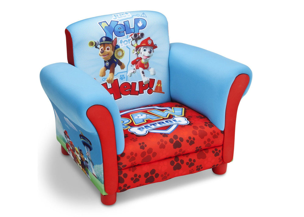 Delta Children Paw Patrol Upholstered Chair Right view a1a