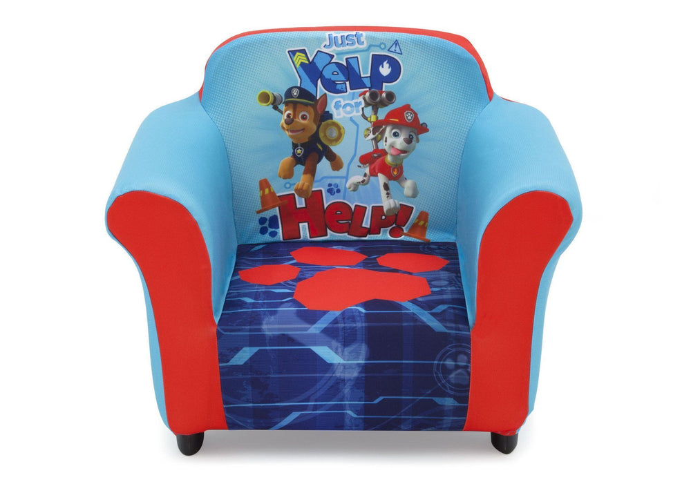 Delta Children PAW Patrol Upholstered Chair, Front View