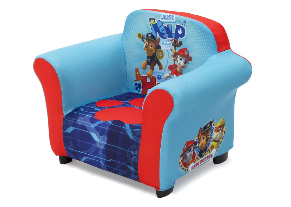 Delta Children PAW Patrol Upholstered Chair, Left View a3a