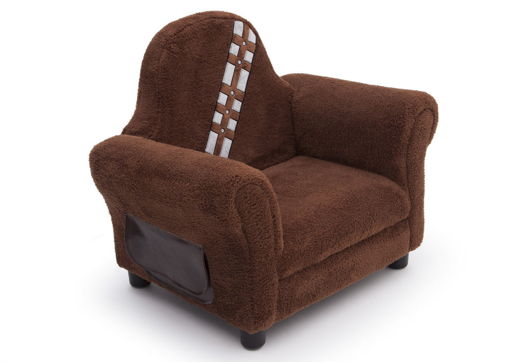 Delta Children Star Wars Upholstered Chair, Chewbacca, Right View a1a