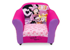 Delta Children Minnie Mouse Plastic Frame Upholstered Chair Style-1, Front View a3a