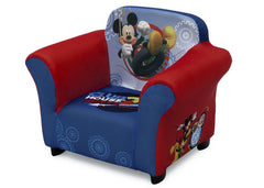 Delta Children Mickey Mouse Upholstered Chair, Left View a2a