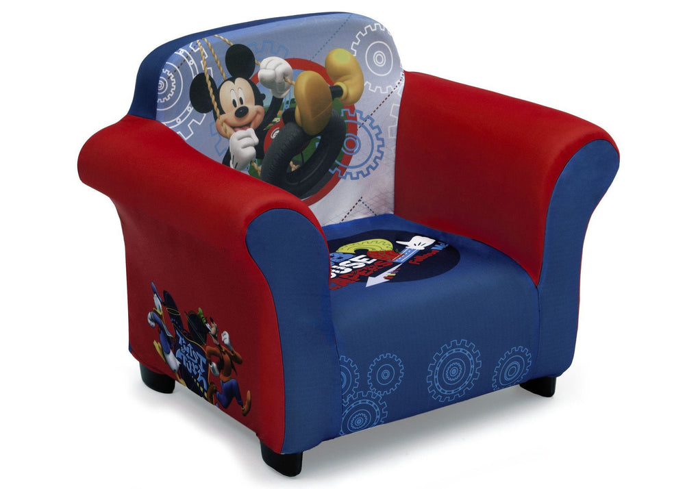 Delta Children Mickey Mouse Upholstered Chair, Right View a1a
