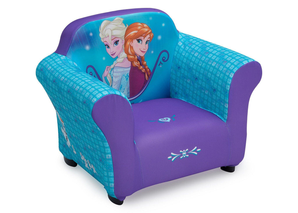 Disney Frozen Upholstered Chair With Sculpted Plastic