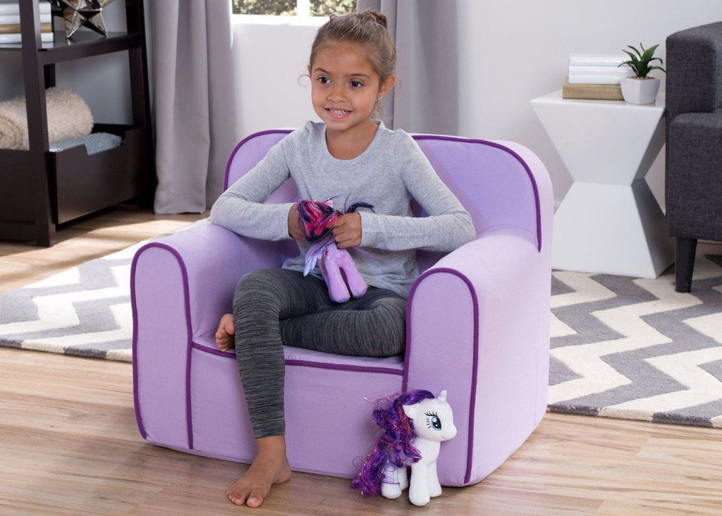 Foam Snuggle Chair, Purple