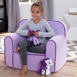 Foam Snuggle Chair (Purple) - bundle