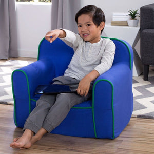 Foam Snuggle Chair (Blue and Green) - bundle